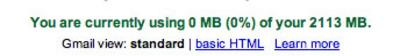 Gmailsize